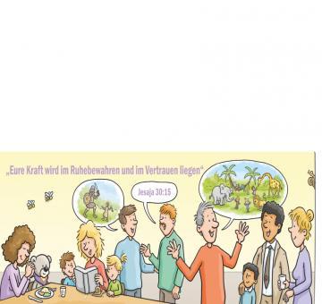 DEIN Bibeltext + Karte + Umschlag