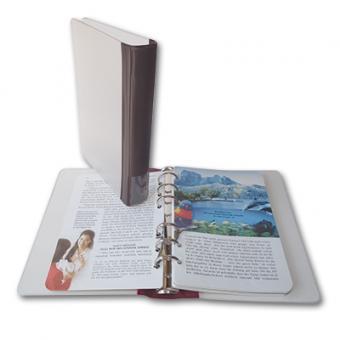 Ringbuch im Taschenbuchformat