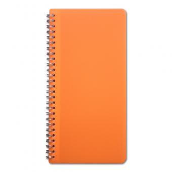 Traktatmäppchen neon-orange