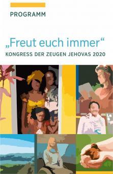 2020 Regional-Kongress-Notizbuch Druckservice & Bindung DEUTSCH