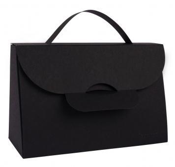 Falt-Artikel Handtasche klein schwarz