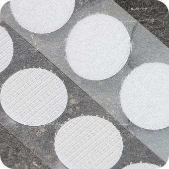 Klettpunkte - selbstklebend – Klebefläche ca 21 mm Durchmesser